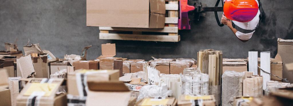 חבילות במחסן GCX